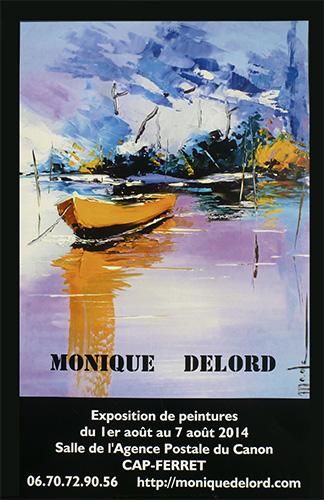 Exposition de peinture au Cap-Ferret, du 1er au 7 août 2014