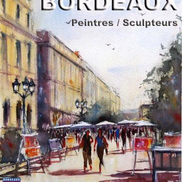 Exposition de peinture cours du Chapeau rouge à Bordeaux