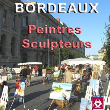 Exposition de peinture de mai à novembre 017 cours du Chapeau rouge à Bordeaux