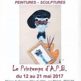 Exposition «Le printemps de l'APB»