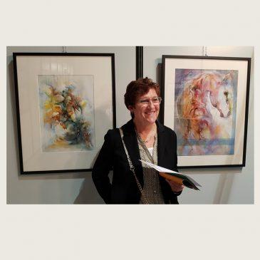 1er prix aquarelle au 35e Salon des Arts Aquitaine Blanquefort