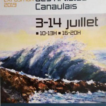 Exposition 2019 des Artistes Canaulais
