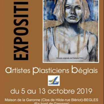 Exposition «Artistes Plasticiens Béglais» du 5 au 13 octobre 2019