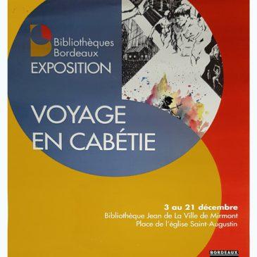 Exposition dessins et peintures du Cercle des artistes Bordelais, du 3 au 21 décembre 2019