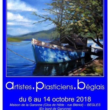 Exposition «Artistes Plasticiens Béglais» 2018